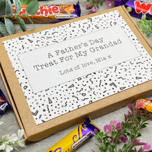 Load image into Gallery viewer, Grandad Fathers Day Treat - Personalised Chocolate Box-5-The Persnickety Co
