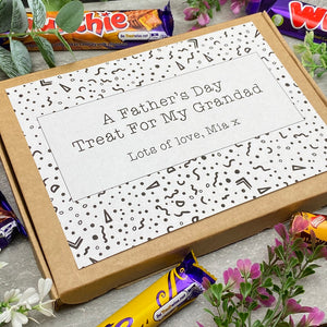 Grandad Fathers Day Treat - Personalised Chocolate Box-5-The Persnickety Co