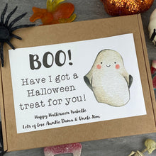 Load image into Gallery viewer, BOO Personalised Halloween Sweet Box-4-The Persnickety Co
