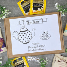 Load image into Gallery viewer, You're TEA-Riffic Personalised Tea and Biscuit Box-9-The Persnickety Co