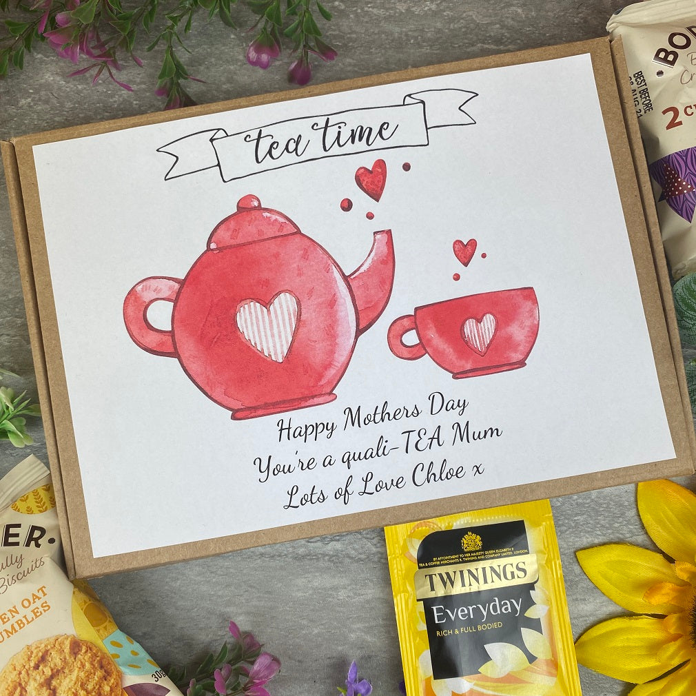 Mothers Day Quali-TEA Tea and Biscuit Box-The Persnickety Co