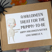 Load image into Gallery viewer, Mummy To Be! Personalised Halloween Sweet Box-5-The Persnickety Co