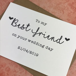 To My Best Friend on your Wedding Day-3-The Persnickety Co