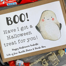 Load image into Gallery viewer, BOO! Personalised Halloween Kinder Bueno Box-4-The Persnickety Co
