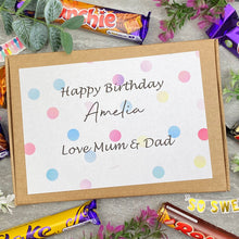 Load image into Gallery viewer, Personalised Birthday Chocolate Gift Box-4-The Persnickety Co