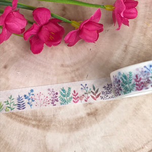 Colourful Plant Washi Tape-8-The Persnickety Co
