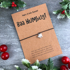 Baa Humbug Wish Bracelet-5-The Persnickety Co