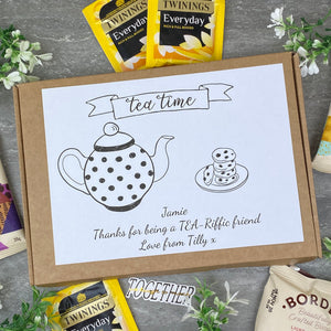 Tea-Riffic Friend Personalised Tea and Biscuit Box-5-The Persnickety Co