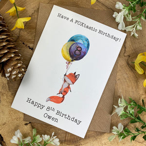 FOXtastic Birthday Card-5-The Persnickety Co