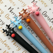 Load image into Gallery viewer, Cute Reindeer Gel Pen-10-The Persnickety Co