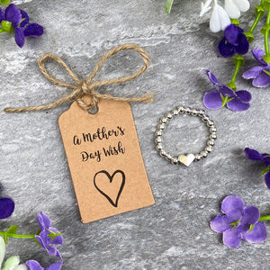 A Mother's Day Wish - Beaded Ring-6-The Persnickety Co