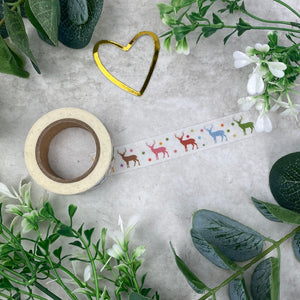 Reindeer Washi Tape-3-The Persnickety Co