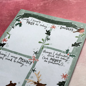 Winter Wonderland A5 Notepad-3-The Persnickety Co