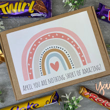 Load image into Gallery viewer, You Are Nothing Short Of Amazing Personalised Chocolate Box-9-The Persnickety Co