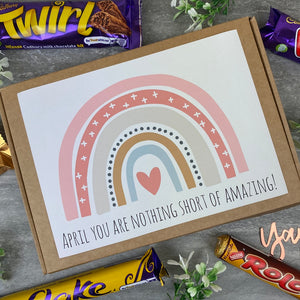 You Are Nothing Short Of Amazing Personalised Chocolate Box-9-The Persnickety Co