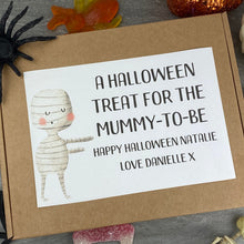 Load image into Gallery viewer, Mummy To Be! Personalised Halloween Sweet Box-8-The Persnickety Co