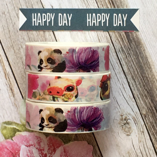Panda Washi Tape-The Persnickety Co