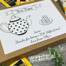 Load image into Gallery viewer, Tea-Riffic Friend Personalised Tea and Biscuit Box-8-The Persnickety Co