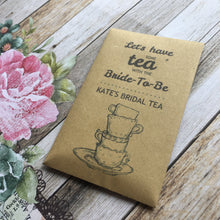 Load image into Gallery viewer, Let's Have Some Tea With The Bride To Be 12 x Tea Favours-3-The Persnickety Co