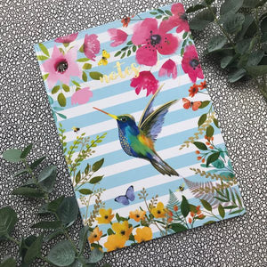A4 Hummingbird Notebook-2-The Persnickety Co