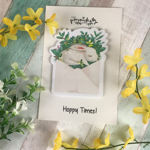 Cute Bunny Sticky Notes-6-The Persnickety Co