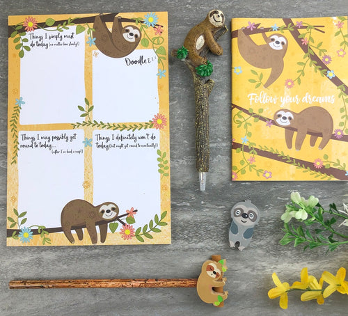 Sloth Stationery Set-The Persnickety Co