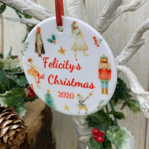Nutcracker Babies 1st Christmas Hanging Decoration-3-The Persnickety Co