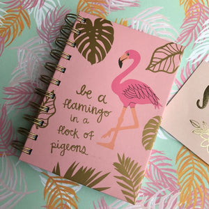 Be A Flamingo Notebook-2-The Persnickety Co