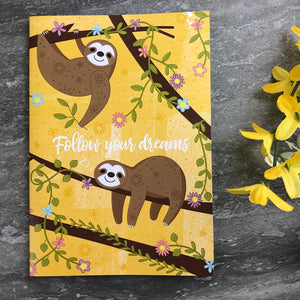 Sloth Stationery Set-6-The Persnickety Co