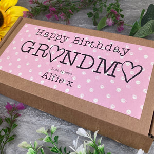 Happy Birthday Grandma Liquorice Treat Box