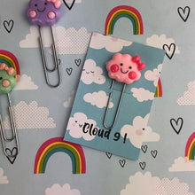 Load image into Gallery viewer, Happy Cloud Resin Paper Clip-8-The Persnickety Co