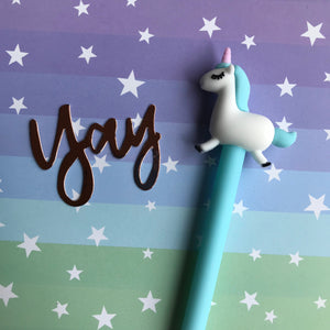 Pastel Unicorn Gel Pen-8-The Persnickety Co