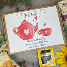 Load image into Gallery viewer, Mothers Day Quali-TEA Tea and Biscuit Box
