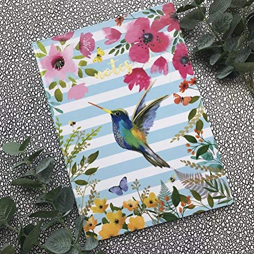 A4 Hummingbird Notebook-The Persnickety Co