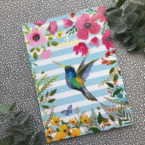 A4 Hummingbird Notebook-5-The Persnickety Co