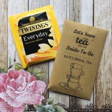 Load image into Gallery viewer, Let's Have Some Tea With The Bride To Be 12 x Tea Favours-2-The Persnickety Co
