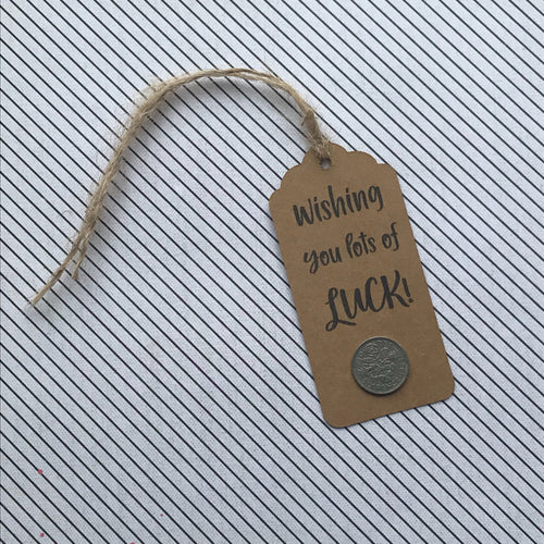 I Wish You Lots of Luck Gift Tag-The Persnickety Co