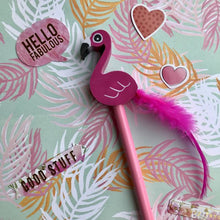 Load image into Gallery viewer, Novelty Pink Flamingo Pencil-2-The Persnickety Co