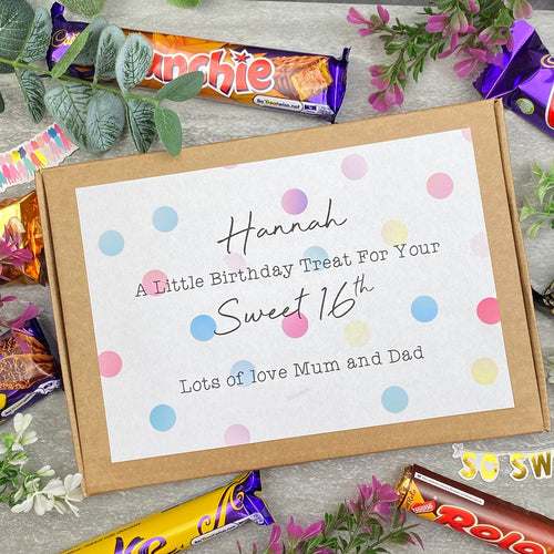 Sweet 16th - Personalised Chocolate Box-The Persnickety Co