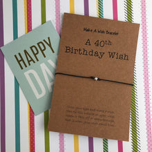 Load image into Gallery viewer, A 40th Birthday Wish - Star-6-The Persnickety Co