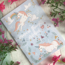 Load image into Gallery viewer, A6 Unicorn Notebook-2-The Persnickety Co