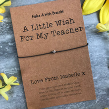 Load image into Gallery viewer, A Little Wish For A Teacher-7-The Persnickety Co
