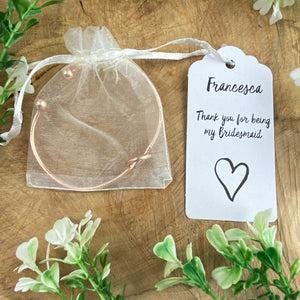 Knot Bangle - Thank You For Being My Bridesmaid-7-The Persnickety Co