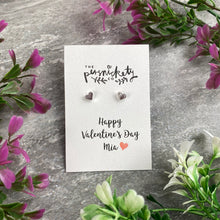 Load image into Gallery viewer, Happy Valentine's Day Earrings-The Persnickety Co