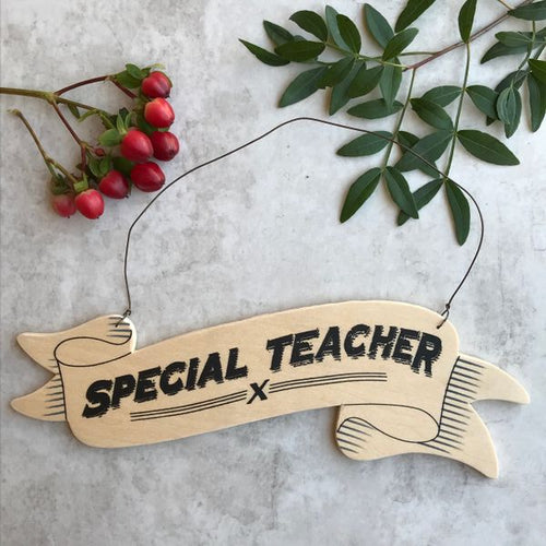 East of India Special Teacher Sign-The Persnickety Co