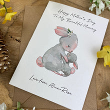 Load image into Gallery viewer, Happy Mother's Day To My Beautiful Mummy - Personalised Card-7-The Persnickety Co