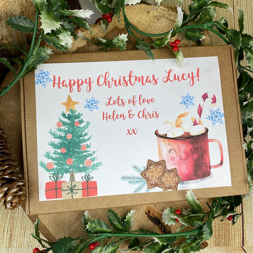 Personalised Christmas Hot Chocolate Box-The Persnickety Co
