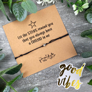 Let The Stars Remind Me - Anklet-The Persnickety Co