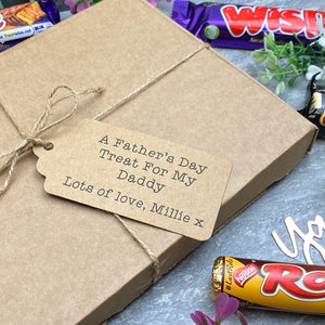 A Father's Day Treat - Personalised Chocolate Gift Box-7-The Persnickety Co