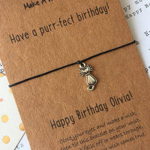 Have A Purr-fect Birthday Wish Bracelet-2-The Persnickety Co
